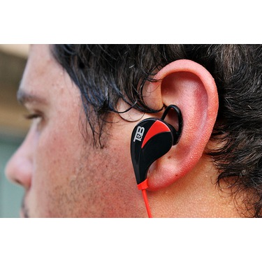 Tate And Bauer Elite Bluetooth Headphones, Red