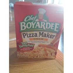 Chef BoyardeePizza Mix