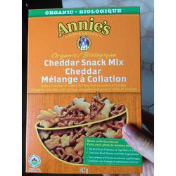 Annie's cheddar snack mix