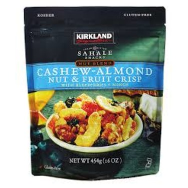 Kirkland Sahale Snacks Cashew Almond Nut & Fruit