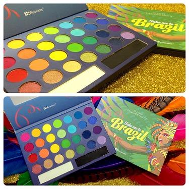 BH Cosmetics Take Me To Brazil palette