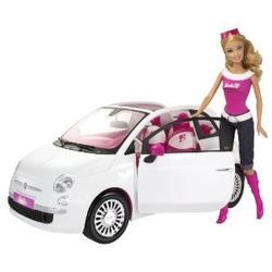 Barbie Fiat Toy Car