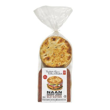 Presidents Choice- Naan Rounds