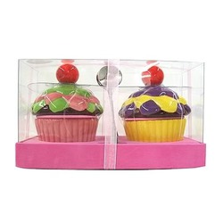 Wild Eye Designs- 4pc Cupcake Sugar Bowls