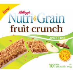 Nutri-Grain Fruit Crunch* Apple Crisp