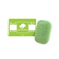 Dr Sponge Facial and Body Cleansing Sponge, Aloe Vera
