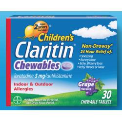 Children's Claritin Chewables