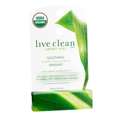 Live Clean Lovely Lips Soothing Lip Balm