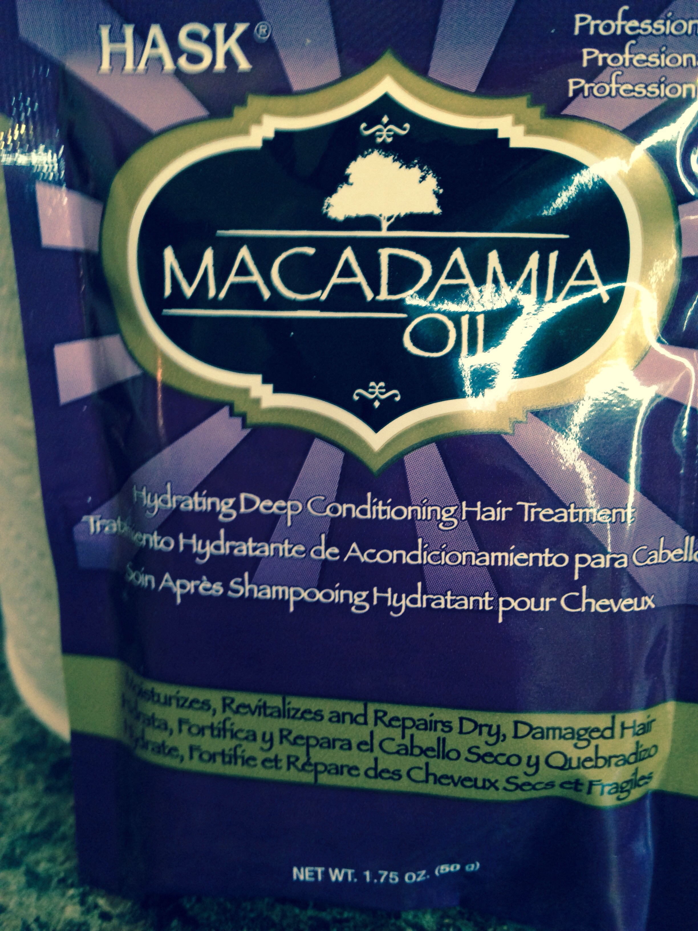 Hask Macadamia Oil Hydrating Deep Conditioning Hair ...