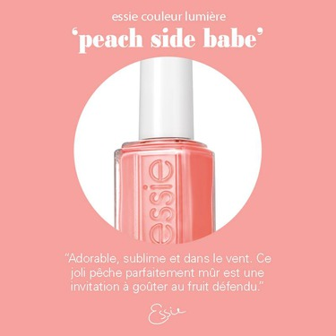 Essie Nail Polsh in Peach Side Babe