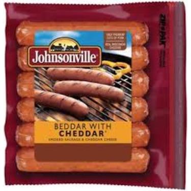 Johnsonville Cheddar Smoked Sausage