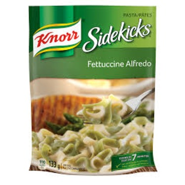 Knorr Sidekicks Fettuccine Alfredo Pasta