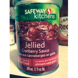 Safeway Kitchens Jellied Cranberry Sauce
