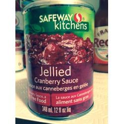 Safeway Kitchens Jellied Cranberry Sauce