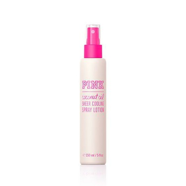 Victoria's Secret Pink Coconut Oil Sheer Cooling Spray Lotion