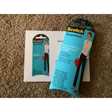 Scotch Essentials Easy Fix Button