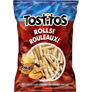 Tostitos Now Comes in Rolls | Brand Eating