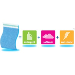 Purex Complete 3-in-1 Laundry Sheets