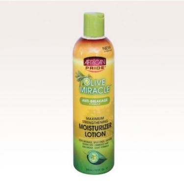 African Pride Olive Miracle Anti-Breakage Moisturizer Lotion
