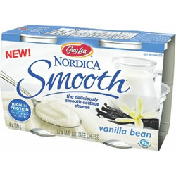 Gay Lea Nordica Smooth Cottage Cheese in Vanilla Bean