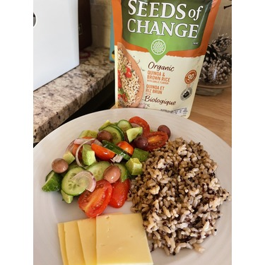 Seeds of Change Qunioa and Brown Rice