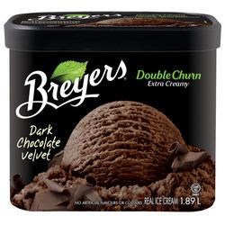 Breyers Creamery Style Dark Chocolate Velvet Frozen Dessert