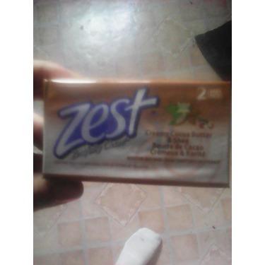 Zest cashmere shea butter bar soap