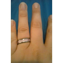 Vh Pink Camo Ring, Wedding Band, the Most Distinct & Clear Camo Brand, 6mm Titanium, Light Weight and Strength Combined