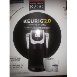 Keurig 2.0 with VanHoutte Specialty Beverages