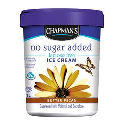 chapman's lactose and sugar free ice cream