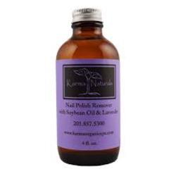 Karma Naturals Soybean Oil and Lavender Nail Polish Remover