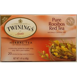 Twinings pure red rooibos tea