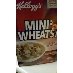 Kellogg's Mini-Wheats Brown Sugar Flavour