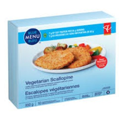 President's Choice Vegetarian Scallopine