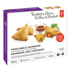 President's Choice Vegetable Samosas