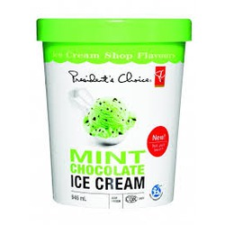 President's Choice Mint Chocolate Ice Cream