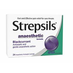 Strepsils Anaesthetic Blackcurrant