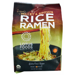 Lotus Organic Millet and Brown Rice Ramen Noodles