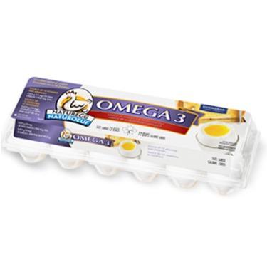 Naturegg Omega 3 Eggs from Burnbrae Farms