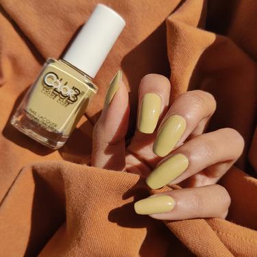 color club nail polish yellow