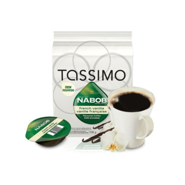 Tassimo Nabob French Vanilla Flavoured Coffee