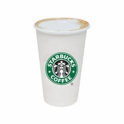 Skinny vanilla latte at starbucks