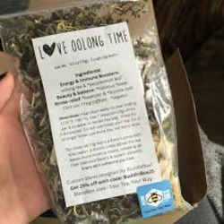 BlendBee Love Oolong Time Organic Tea