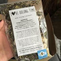 BlendBee Love Oolong Time Organic Tea