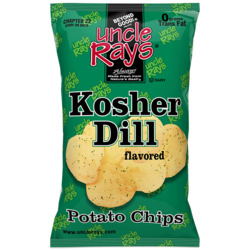 Uncle Rays dill chips
