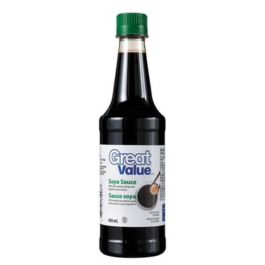 Great Value Soya Sauce - Reduced Sodium