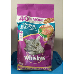 Whiskas Cat Food Meaty Selections