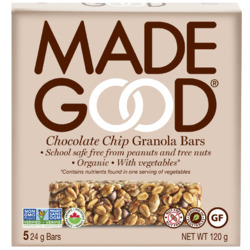 Made Good Organic Granola Bar in Chocolate Chip