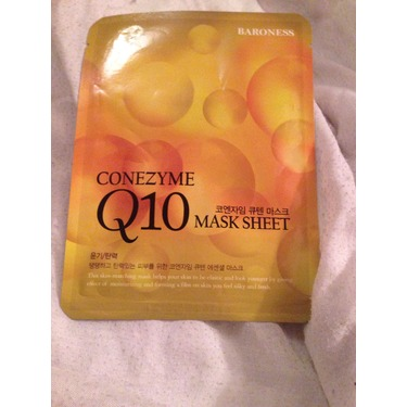 Conezyme Q10 Mask Sheet