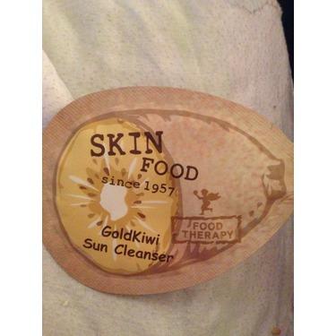 gold kiwi sun cleanser skin food